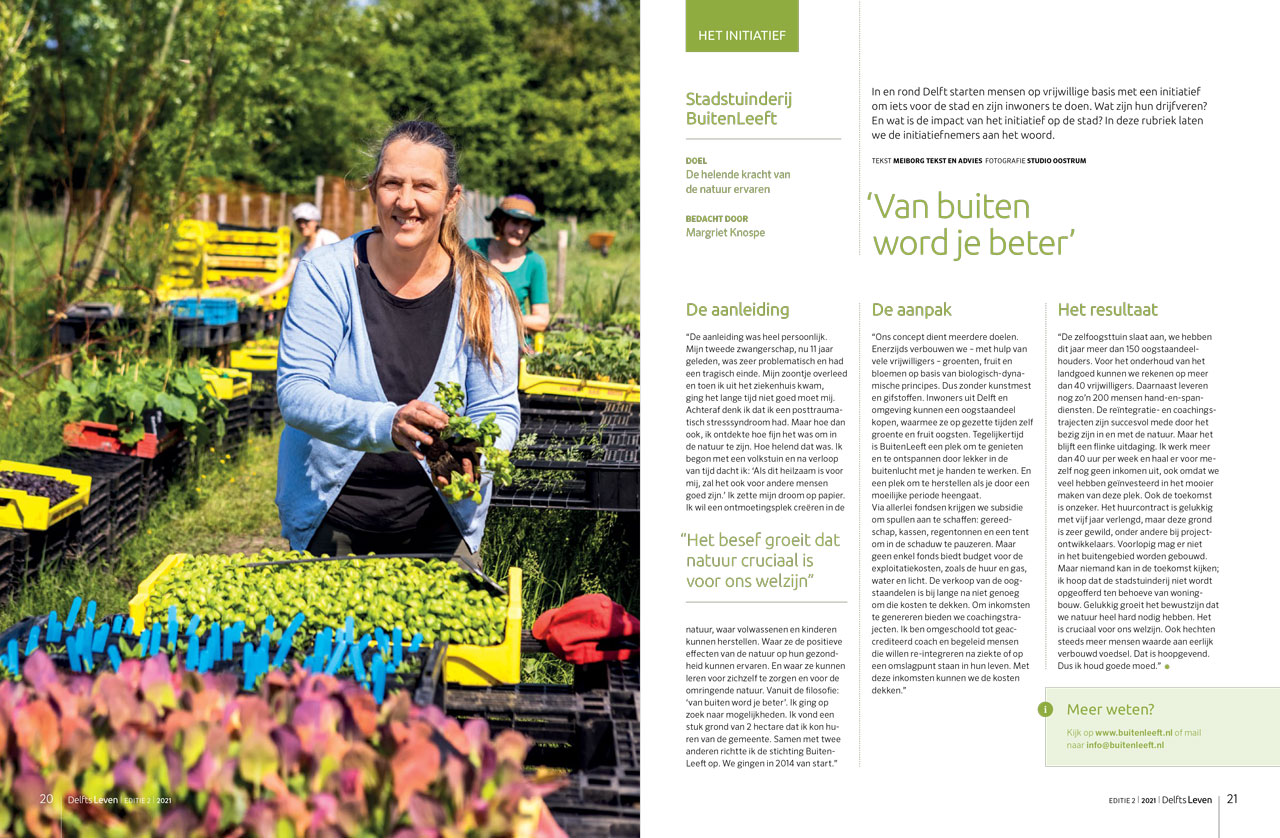 Delfts Leven - Het initiatief